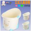 婴幼儿浴桶 儿童沐浴桶浴桶加厚洗澡盆宝宝泡澡桶可坐