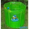 专柜正品[安泰]70*70绿色版婴儿游泳池 宝宝游泳池/送脖圈