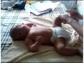 【婴儿抚触】婴儿游泳前做婴儿抚触 (593播放)