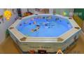 世纪顶点婴儿游泳馆设备、儿童游泳池、亚克力游泳池、新生儿澡盆 (877播放)