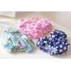 婴幼儿男女宝宝可爱几何魔术贴可调节防漏游泳尿裤
