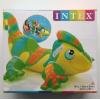 原装正品INTEX蜥蜴座骑充气动物儿童成人坐骑游泳坐圈