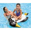 INTEX动物浮排打水板浮板儿童浮床冲浪板 鳄鱼企鹅把手踢板