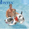 斑点狗坐骑 水上充气床儿童游泳圈充气动物水上浮排
