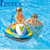 INTEX飞艇坐骑 水上充气玩具儿童游泳充气水上坐骑浮排