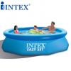 INTEX碟形水池 充气圆形游泳池家庭儿童戏水泳池