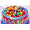 正品INTEX趣味玩具波波球海洋球
