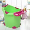 儿童浴桶超大号婴儿洗澡桶宝宝浴盆加厚塑料保温小孩浴桶可坐