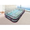 新款组装玻璃婴儿游泳馆专用婴童游泳池