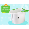 加厚超大号浴桶儿童洗澡桶可坐婴儿游泳盆
