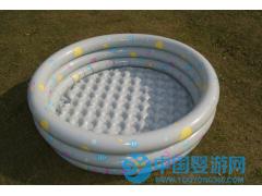 上海盈泰三环印花圆形充气水池