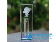 水晶印章胎毛 宝宝婴儿纪念品脐带章K9水晶定制刻字厂家直销