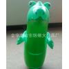 厂家订做PVC充气不倒翁大号拳击柱