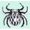 工厂订做PVC充气蜘蛛鬼节道具