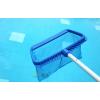 蓝泳牌游泳池设备泳池清洁工具加强深水捞网