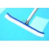 蓝泳牌游泳池清洁工具泳池18寸铝背刷池