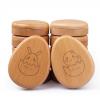 乐木宝宝胎毛乳牙盒牙齿保存盒婴儿个性纪念品十二生肖蛋形牙屋