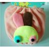 韩国新款可爱小兔卡通儿童毛绒袖套批发
