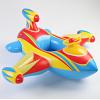 奇彩贝大飞机座圈带方向盘宝宝婴儿儿童游泳圈坐圈加厚座艇1-5岁