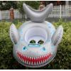 厂家直销 PVC充气儿童加厚游泳圈 动物小游艇婴儿座圈带把手