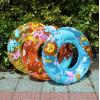 日本儿童游泳圈 卡通水晶圈 单层加厚救生圈 pvc充气泳圈 腋下圈