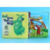 专业宝宝洗澡书益智婴儿环保高级戏水玩具EVA游泳书