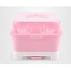 宝宝奶瓶收纳箱婴儿奶瓶架盒储存晾干架
