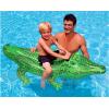 新款小鳄鱼充气坐骑座骑游泳圈