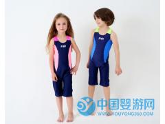2017汐琪新款儿童泳衣 男女童运动款儿童泳衣
