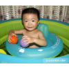 自游宝贝婴儿游泳圈坐圈双气囊防侧翻