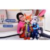 澳捷尔正版疯狂动物城公仔朱迪兔狐尼克毛绒玩具公仔
