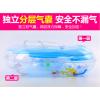 可调节大小充气婴儿游泳圈颈圈宝宝脖圈