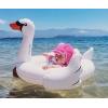 火烈鸟儿童游泳圈宝宝白天鹅火裂鸟造型游泳圈