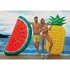 水上充气菠萝浮排充气水果游泳圈气垫充气床