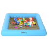 盈泰加厚夹网PVC高品质充气沙池沙滩池游泳池