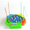 宝宝益智玩具电动音乐旋转钓鱼盘