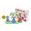 儿童益智玩具DIY音乐海豚多功能百变电动旋转齿轮积木