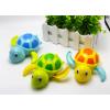 婴幼儿戏水洗澡玩具发条卡通大号上链会游泳的乌龟