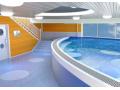 婴儿游泳馆地面怎么装修,用什么材料