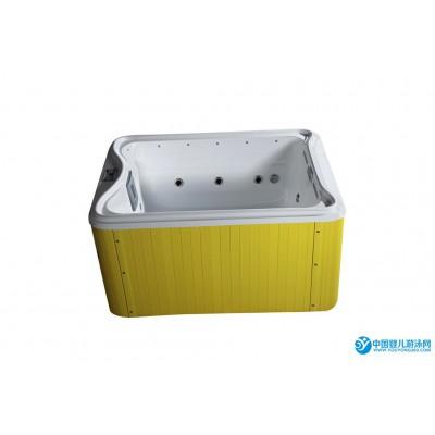厂家批发凯瑞宝贝2米*1.6米进口亚克力智能恒温游泳池 亚克力一体儿童游泳池