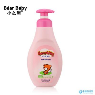 正品小么熊儿童洗发水 婴幼儿洗护用品批发 宝宝婴儿洗发露300ml