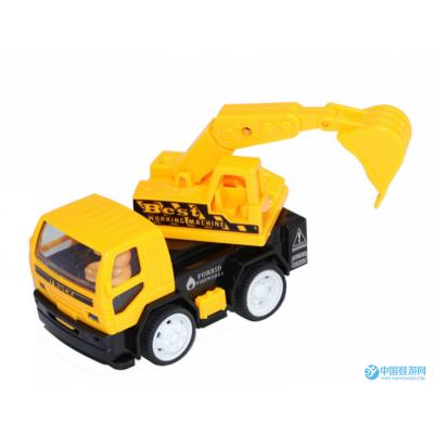 仿真挖掘机模型惯性小挖机工程车队