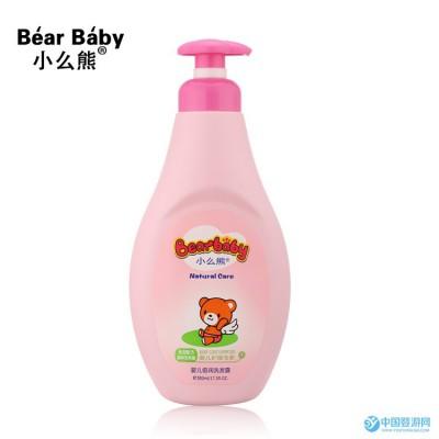 正品小么熊洗护用品 婴儿洗发露500ml 宝宝洗发乳 儿童洗发水批发