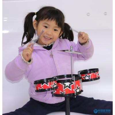 儿童架子鼓手敲爵士鼓音乐早教敲击打击乐器