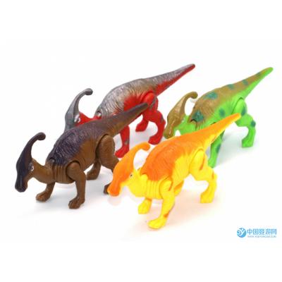 上链玩具发条小恐龙爬行副节龙小腕龙益智科教卡通会走路动物
