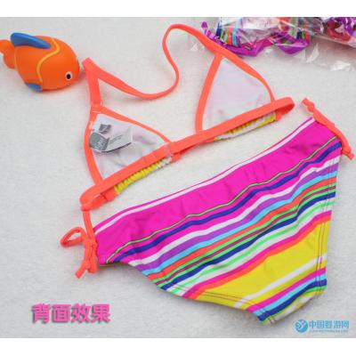 Ocean Fry 宝宝游泳衣套装 比基尼款女童泳衣