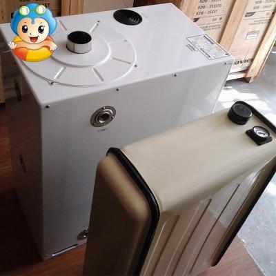 韩国原装进口庆东不锈钢燃油锅炉90L油箱地供暖婴幼儿洗浴热水
