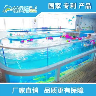 婴儿游泳馆设备钢化玻璃游泳池