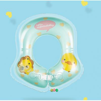 曼波鱼婴儿游泳圈腋下圈宝宝游泳腋下圈充气加厚可调节