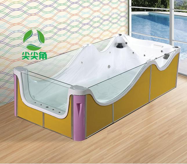 亚克力单面泡泡玻璃一体池可定制